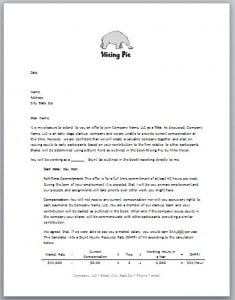 Offer Letter | Slicing Pie